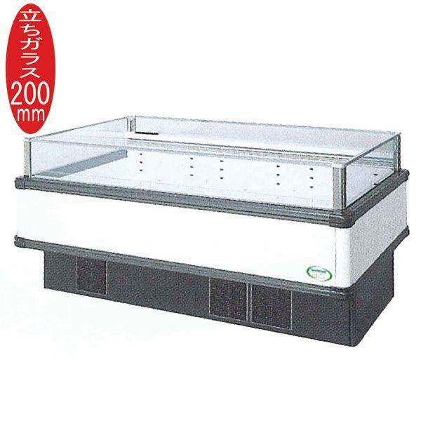 新品:福島工業(フクシマ) インバーター制御アイランドショーケース 冷蔵タイプ W1671+(64.5×2)×D1100×H850(mm) IMX-65RWFTAX