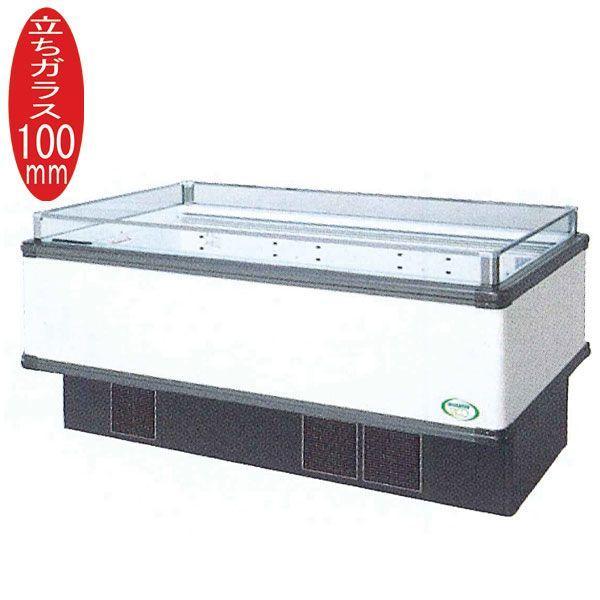 新品:福島工業(フクシマ) インバーター制御アイランドショーケース 冷蔵タイプ W1671+(64.5×2)×D1100×H850(mm) IMX-65RGFSAX