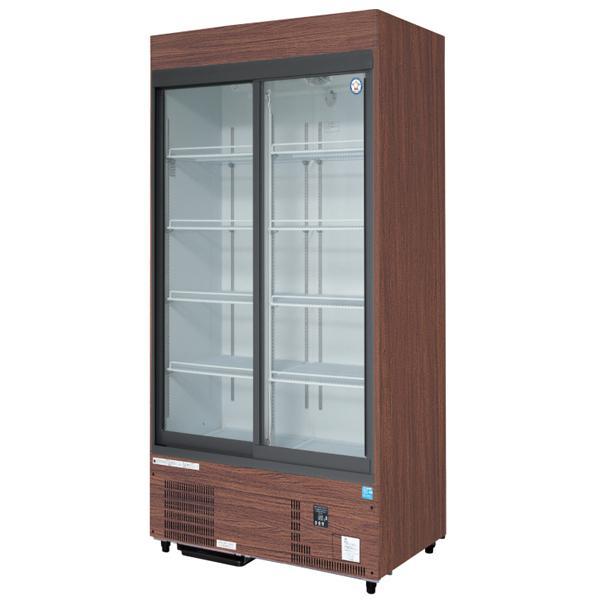 新品:福島工業(フクシマ) リーチイン冷蔵ショーケース(スライド扉タイプ)MSU-090GHMSR