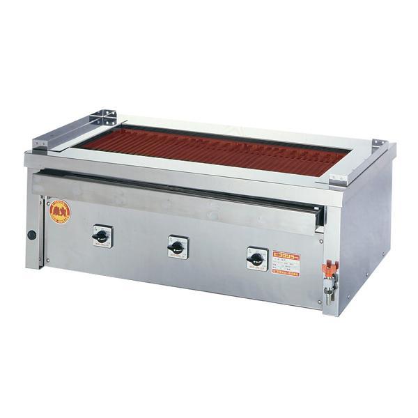 新品:ヒゴグリラー 電気式焼物器(グリラー) 万能タイプ卓上型 幅1020×奥行600×高さ380(mm) 3P-221C