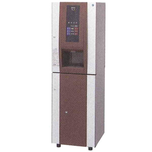 新品:ホシザキ ティーディスペンサー パウダー茶タイプ 水道・排水直結式 収納キャビネット付 PTE-100H2WA1-C