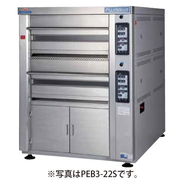 新品:マルゼン ベーカリーコンベクション プリンスオーブン 石板仕様 PEB3-2S(L)