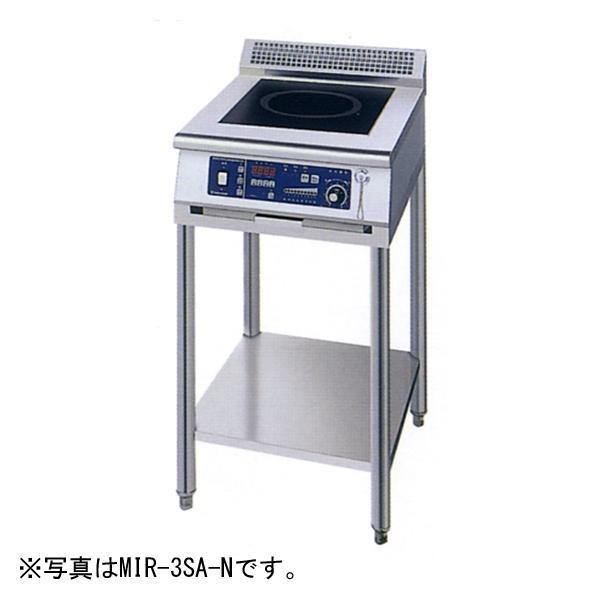 新品:ニチワ IHコンロ(電磁調理器) スタンドタイプ(1連) 450×600×800 MIR-5SA-N