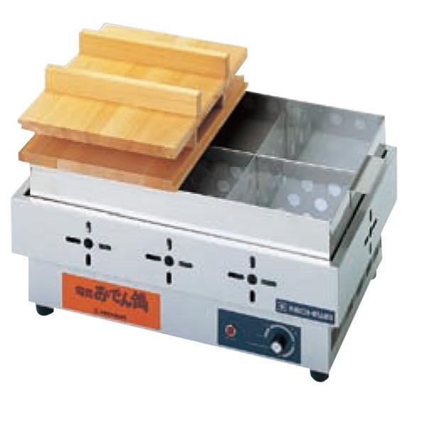 新品:ニチワ 電気おでん鍋 EOK-6N 6ツ切り  おでん鍋業務用 送料無料