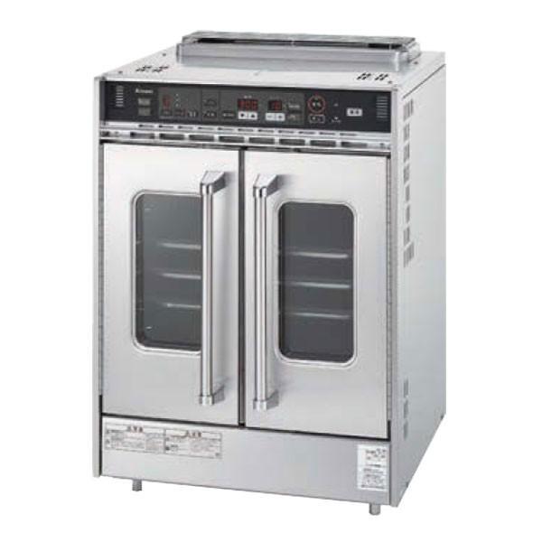 新品:リンナイ ガス高速オーブン 中型タイプ 605×668×874 RCK-20BS4