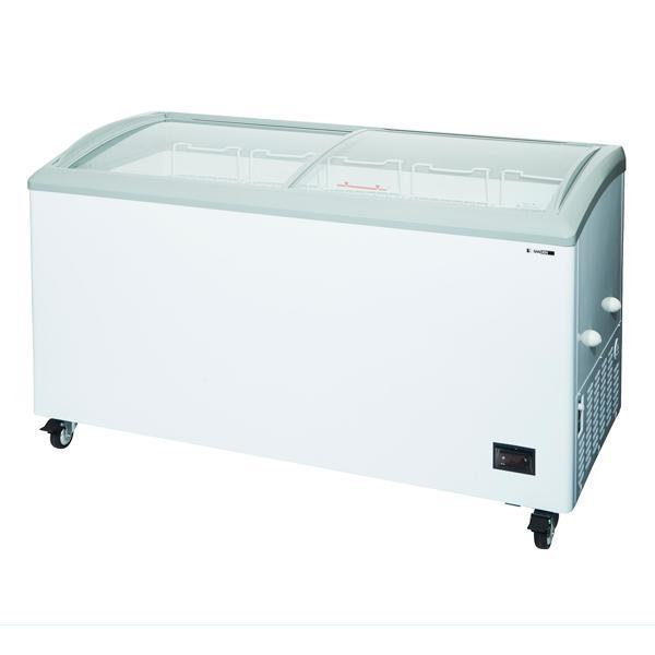 新品:サンデン 冷凍ショーケース(ベーシックタイプ) 1500×752×886 279リットル GSR-1500ZC