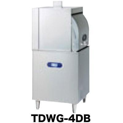 新品:タニコー ガス式小型ドアタイプ食器洗浄機(横開扉)ブースター内蔵 TDWG-4DB1(R・L)