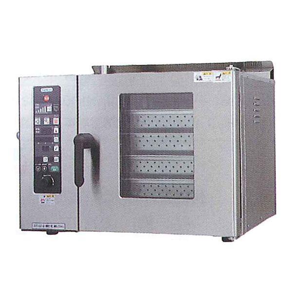 新品:タニコー 電気式 卓上スチームコンベクションオーブン 幅750×奥行600×高さ540(mm) 棚4段 TSCO-4EBN3