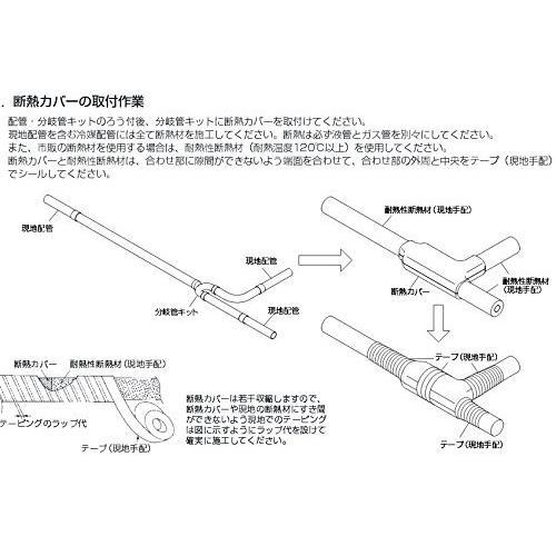 ビル用マルチエアコン [別売]室外ユニット用 分岐管キット CMY-Y300BKG1