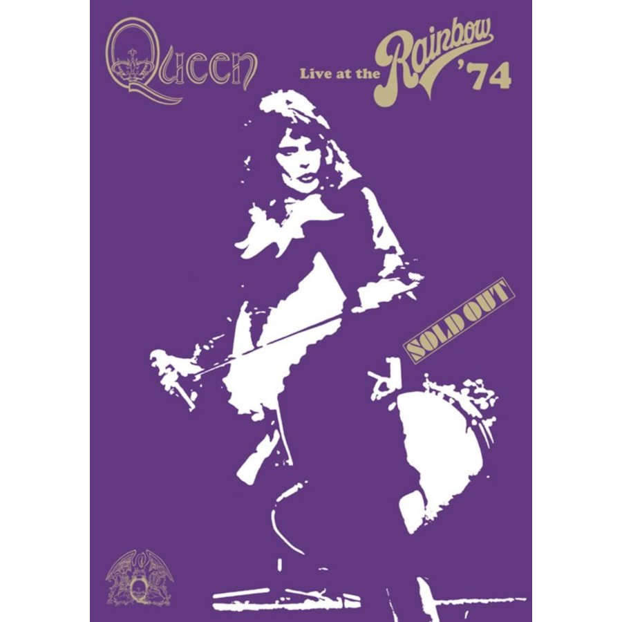 超激安 廃盤 Queen DVD クイーン ライヴ アット ザ the マーケット #039;74 at PR Live Rainbow レインボー