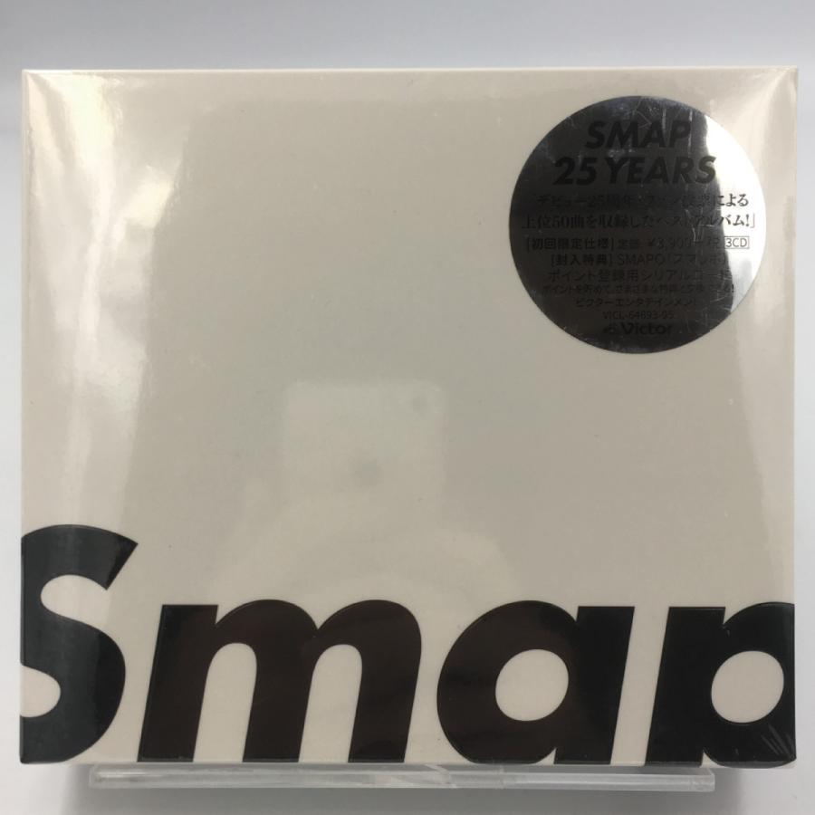 送料無料 SMAP 25 YEARS 初回限定パッケージ仕様 3CD BEST ベスト.スマップ ジャニーズ 中居