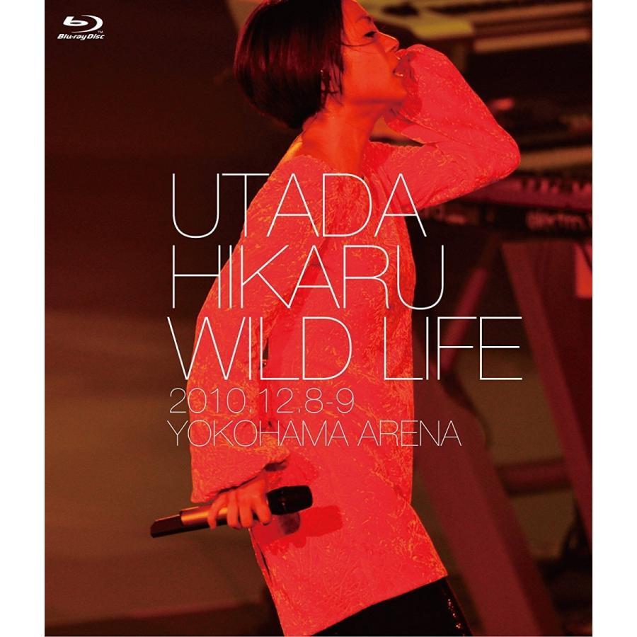 ネコポス発送 在庫あり 宇多田ヒカル Blu-ray ブルーレイ WILD LIFE PR red-monkey