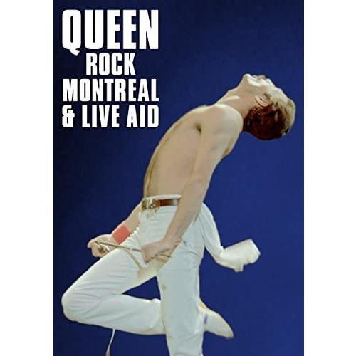 ネコポス発送 在庫あり Queen DVD 伝説の証 ロック・モントリオール 1981 & ライヴ・エイド Rock Montreal & Live Aid 1985 クイーン PR|red-monkey