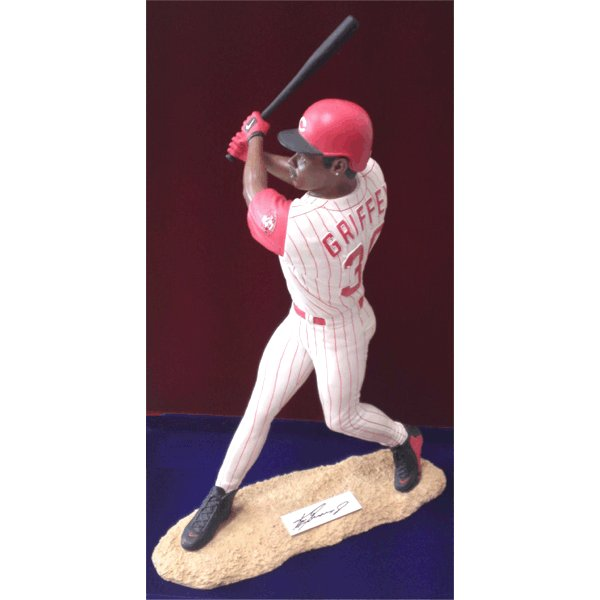 Ken Griffey Jr. Autographed Sports Figurine 55/100