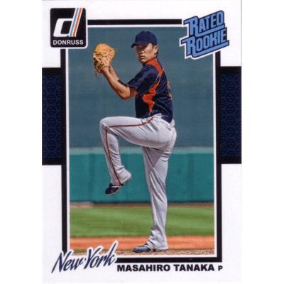 2014 Panini Donruss Rated Rookies Masahiro Tanaka RC English Version