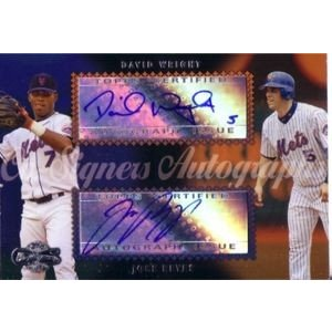 2006 Dual Autographs #CS-37 David Wright/Jose Reyes