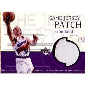 1999-00 UD Game Jersey Patch #GJP1 Jason Kidd