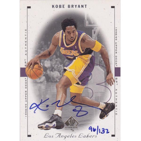 1999-00 UD SP Authentic Buyback Autograph 96/132
