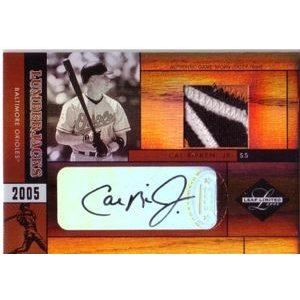 2005 Lumberjacks Signature Jersey Prime Auto Cal Ripken 11/25