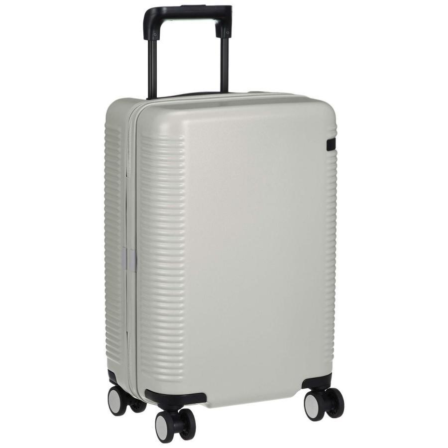 [エース] スーツケース ウォッシュボードZ 日本製 キャスターストッパー付 100席以上機内持込可 機内持ち込み可 37L 3.1kg 銀鼠グレー