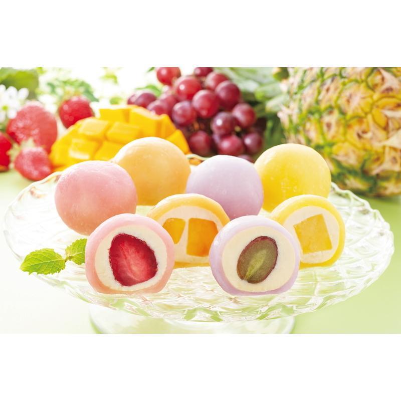 果実のキモチ 彩りフルーツ大福 百貨店 人気急上昇 V6025079T お中元 ギフト スイーツ 高級 2021 人気
