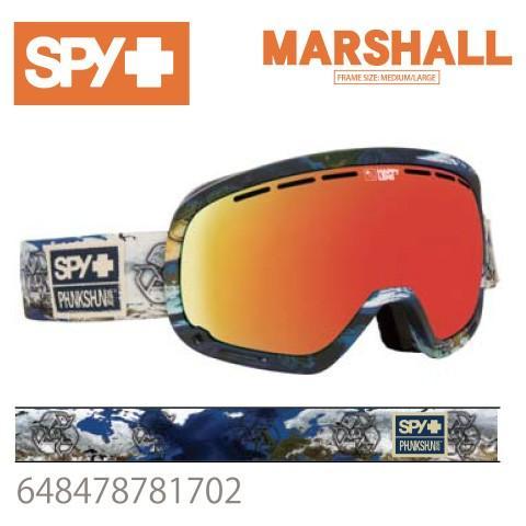 ゴーグル 送料無料 SPY スパイ MARSHALL マーシャル 648478781702 ジャパンフィットフォーム バックル式ストラップ SPY+PHUNKSHUN スキー スノーボード