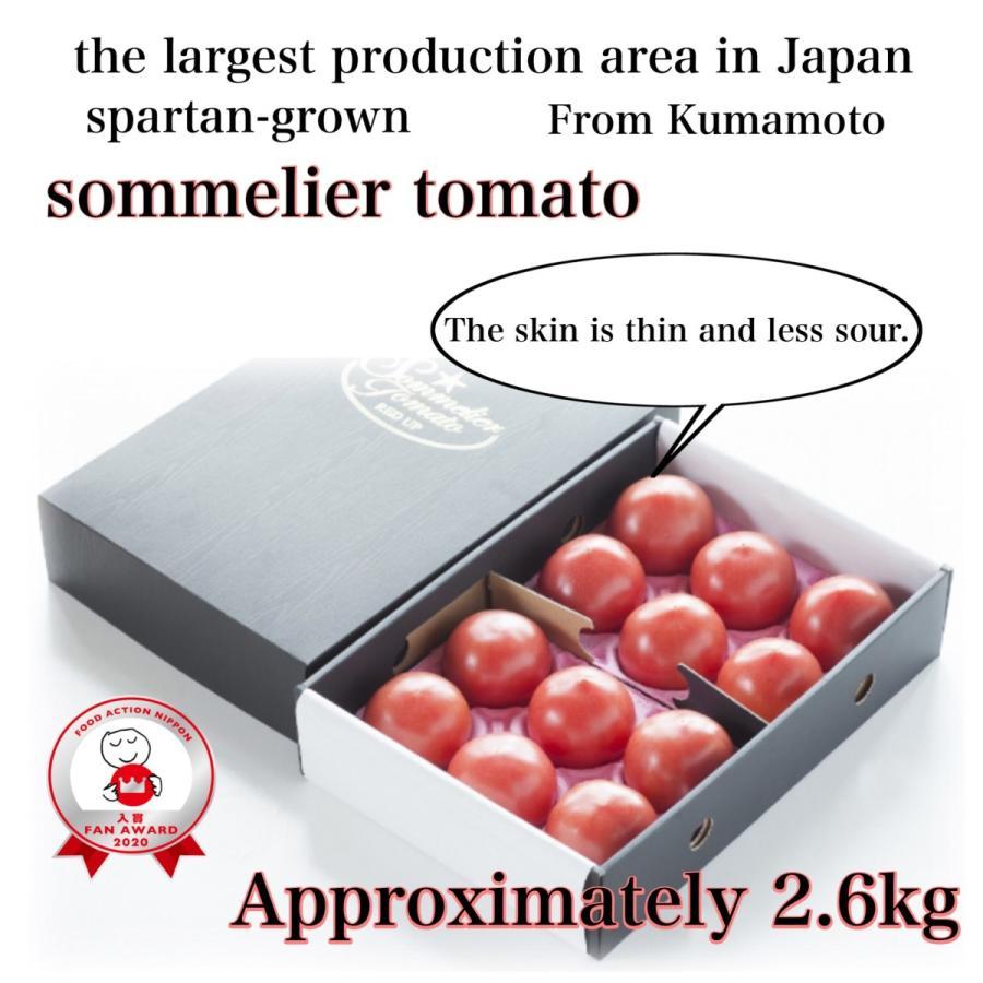 トマト 送料無料 九州 熊本産  ソムリエトマト 2.6kgもぎたてを順次発送 6月20日まで|redup|02