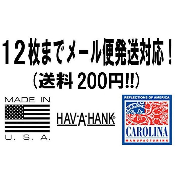 ハバハンク HAV-A-HANK / MADE IN U.S.A. ペイズリーバンダナ PAISLEY BANDANNA (54cm×54cm)  [12枚までメール便発送対応]|redwood|08