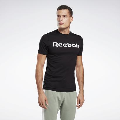 セール価格 出群 日本メーカー新品 返品可 リーボック公式 半袖Tシャツ Reebok グラフィック シリーズ リニア Linear Series Tシャツ ロゴ Logo Graphic