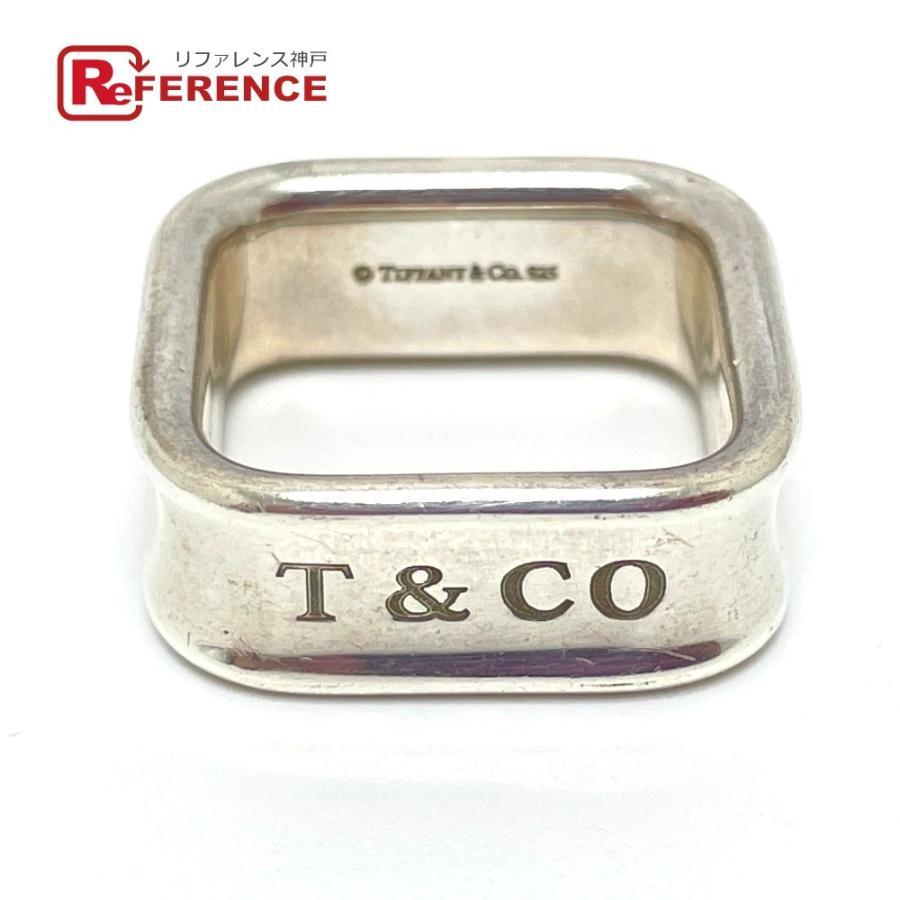 TIFFANY&Co. ティファニー スクエア リング 1837 リング・指輪 11.5号 シルバー ユニセックス 【中古】|reference