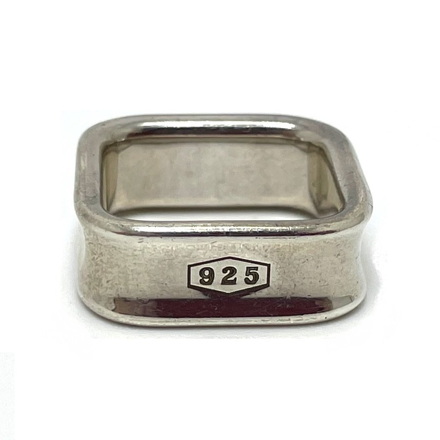 TIFFANY&Co. ティファニー スクエア リング 1837 リング・指輪 11.5号 シルバー ユニセックス 【中古】|reference|05