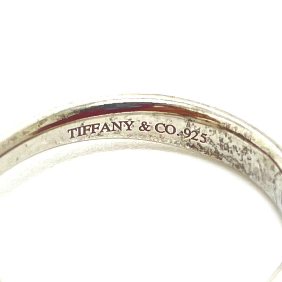 TIFFANY&Co. ティファニー ビーン デザイン エルサ・ペレッティ リング・指輪 10.5号 シルバー レディース 【中古】|reference|08