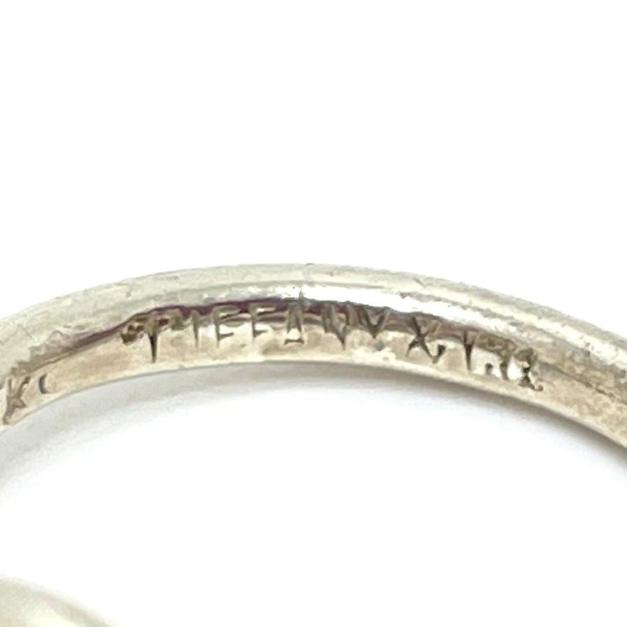 TIFFANY&Co. ティファニー フック&アイ ラブノット リング・指輪 10号 シルバー×ゴールド レディース 【中古】|reference|08