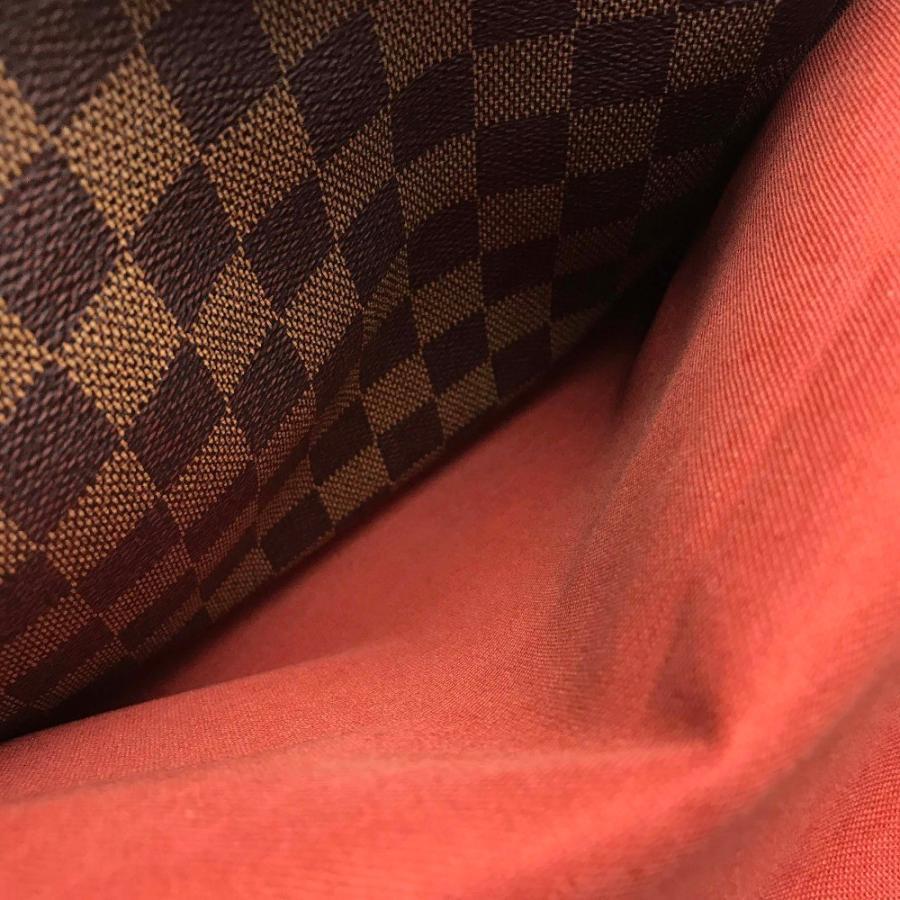 LOUIS VUITTON ルイヴィトン N45255 ナヴィグリオ ダミエ ショルダーバッグ エベヌ ブラウン メンズ 【中古】 reference 11