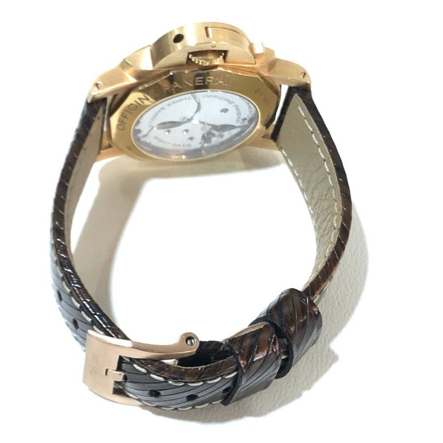 PANERAI パネライ PAM-00289 ルミノール1950 オロローザ エイトデイズGMT 腕時計 ゴールド メンズ 【中古】|reference|04