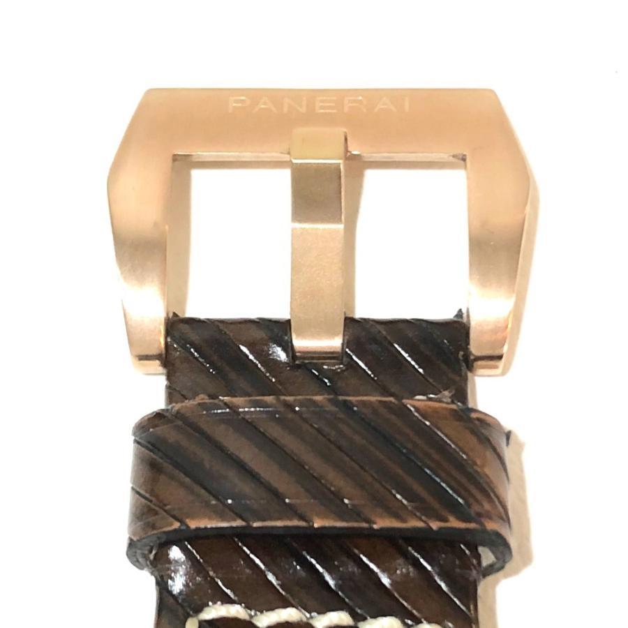 PANERAI パネライ PAM-00289 ルミノール1950 オロローザ エイトデイズGMT 腕時計 ゴールド メンズ 【中古】|reference|06
