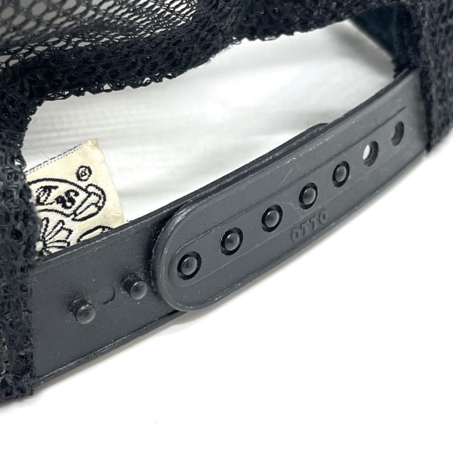 CHROME HEARTS クロムハーツ レザーパッチ 3セメタリークロス 帽子 ブラック メンズ 【中古】 reference 08