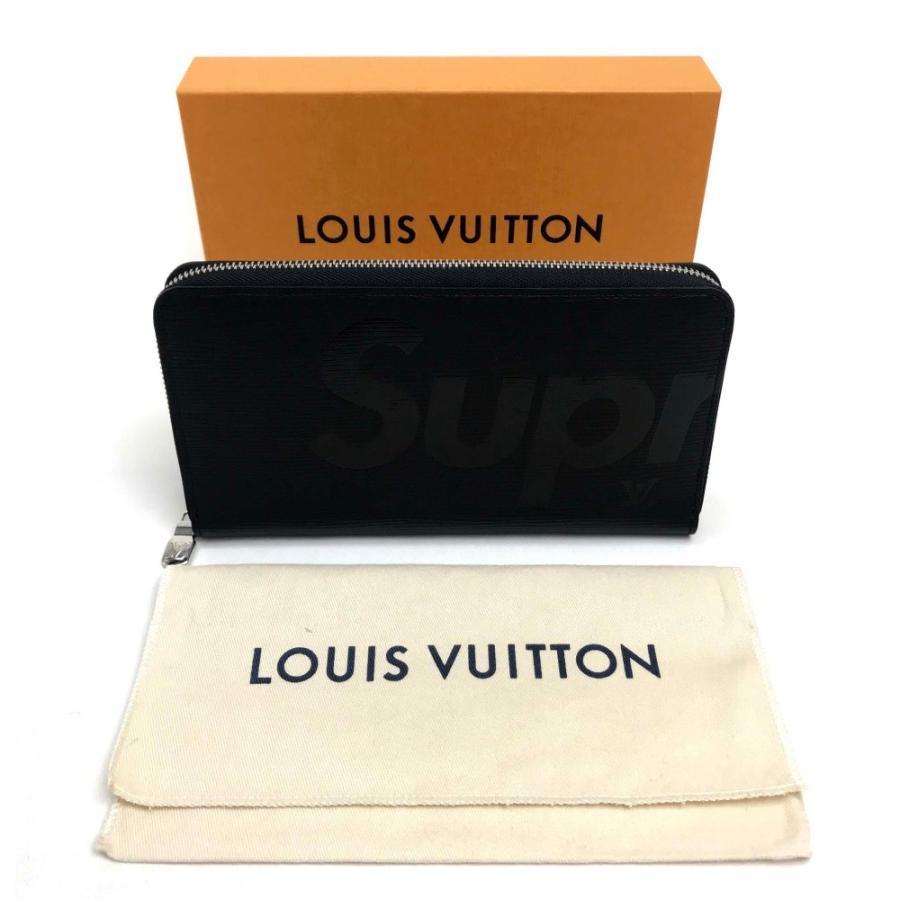 LOUIS VUITTON ルイヴィトン M67723 シュプリーム ジッピー・オーガナイザー 長財布(小銭入れあり) ノワール ブラック メンズ 【新品】|reference|10