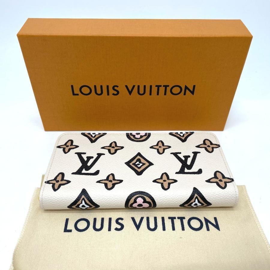 LOUIS VUITTON ルイヴィトン M80676 ワイルド・アット・ハート ジッピー モノグラムアニマル  長財布 クレーム ホワイト系 ユニセックス 【新品】|reference|10
