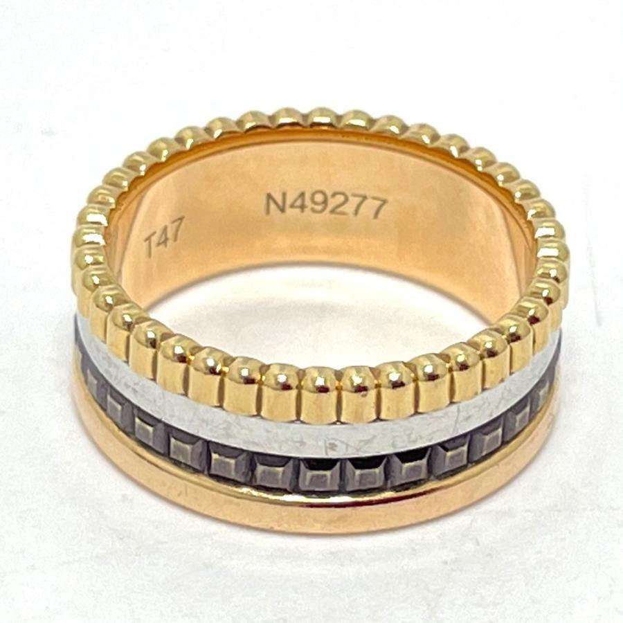 Boucheron ブシュロン JRG00290 キャトル クラシック スモール リング・指輪 7号 ゴールド ユニセックス 【中古】|reference|02