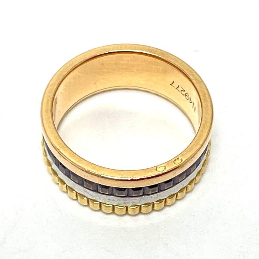 Boucheron ブシュロン JRG00290 キャトル クラシック スモール リング・指輪 7号 ゴールド ユニセックス 【中古】|reference|03