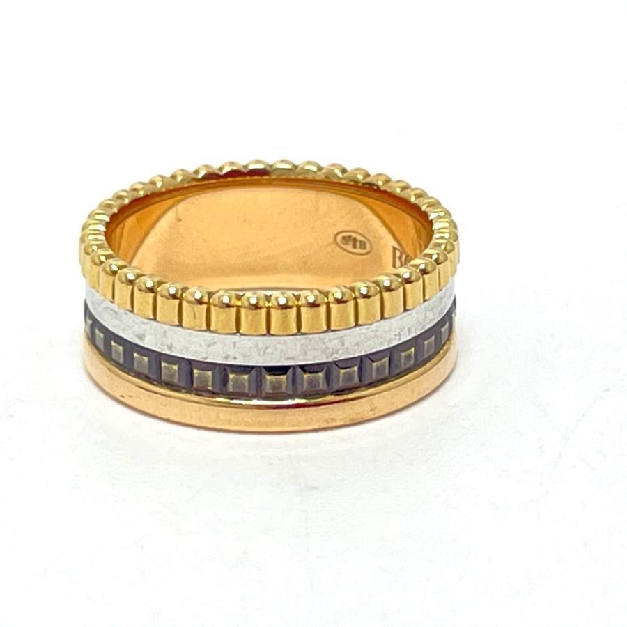 Boucheron ブシュロン JRG00290 キャトル クラシック スモール リング・指輪 7号 ゴールド ユニセックス 【中古】|reference|04