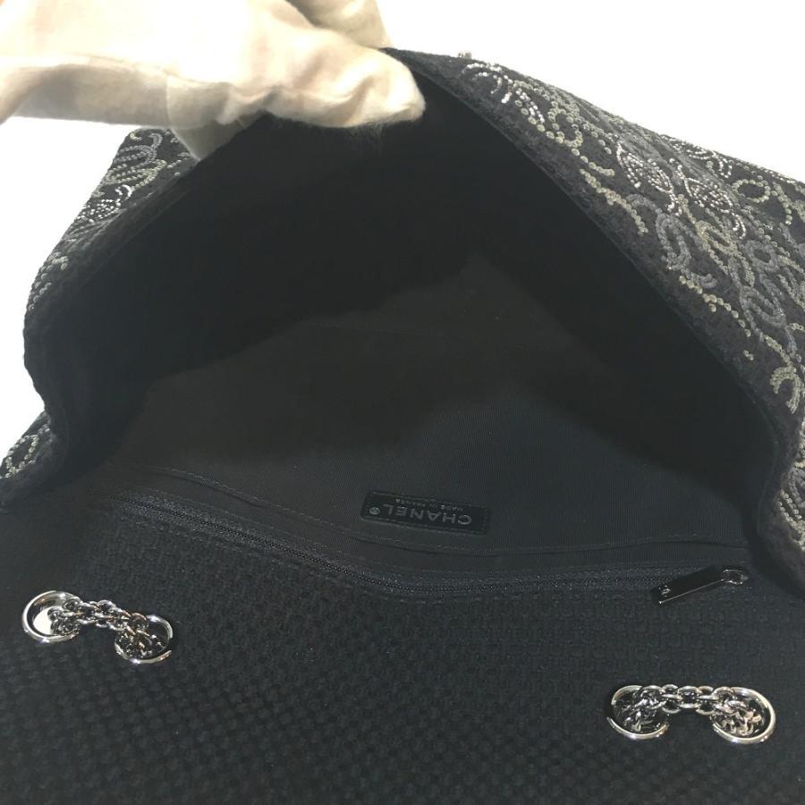 CHANEL シャネル A48872 パリ上海モデル CC ココマーク ショルダーバッグ ブラック レディース 【中古】 reference 08