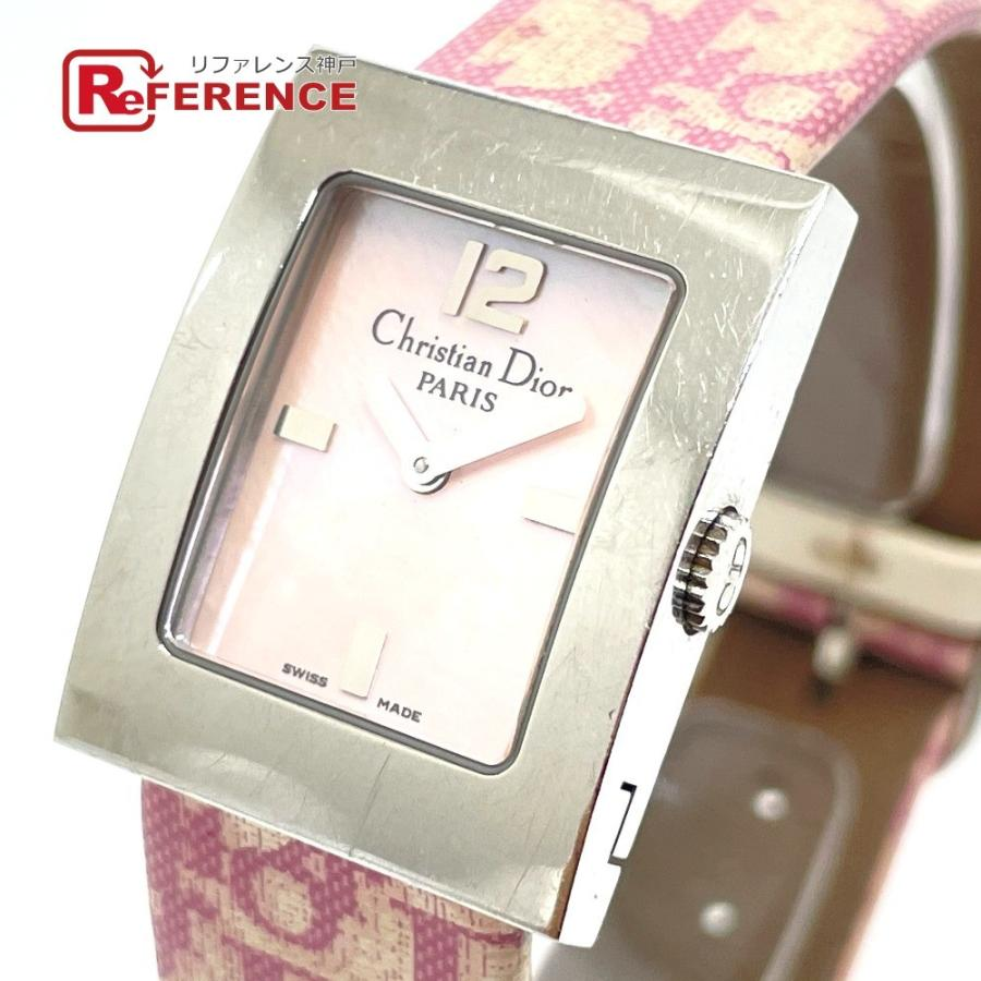 Christian Dior クリスチャンディオール D78-109 マリス トロッター 腕時計 シルバー レディース 【中古】|reference
