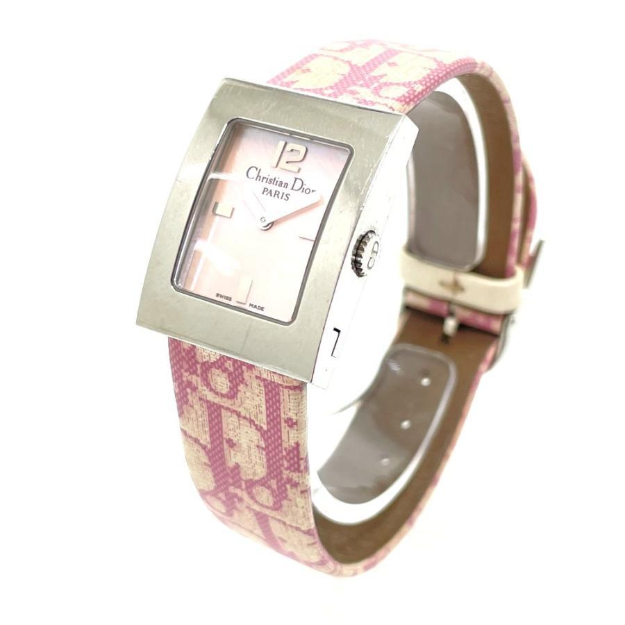 Christian Dior クリスチャンディオール D78-109 マリス トロッター 腕時計 シルバー レディース 【中古】|reference|02