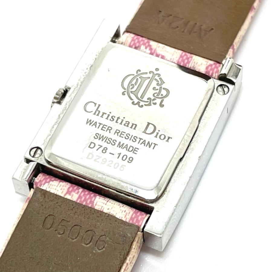 Christian Dior クリスチャンディオール D78-109 マリス トロッター 腕時計 シルバー レディース 【中古】|reference|05