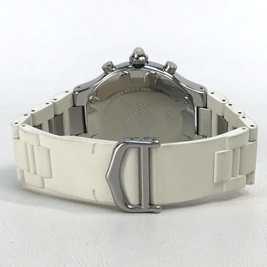CARTIER カルティエ W10184U2 ヴァンテアン クロノスカフLM マスト21 腕時計 シルバー メンズ 【中古】 reference 06