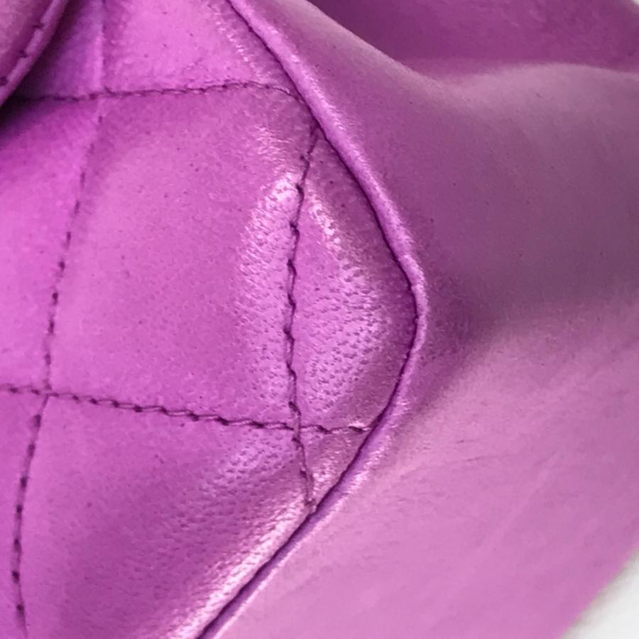 CHANEL シャネル マトラッセ25 バレンタイン限定 ハンドバッグ ピンクパープル レディース 【中古】 reference 04
