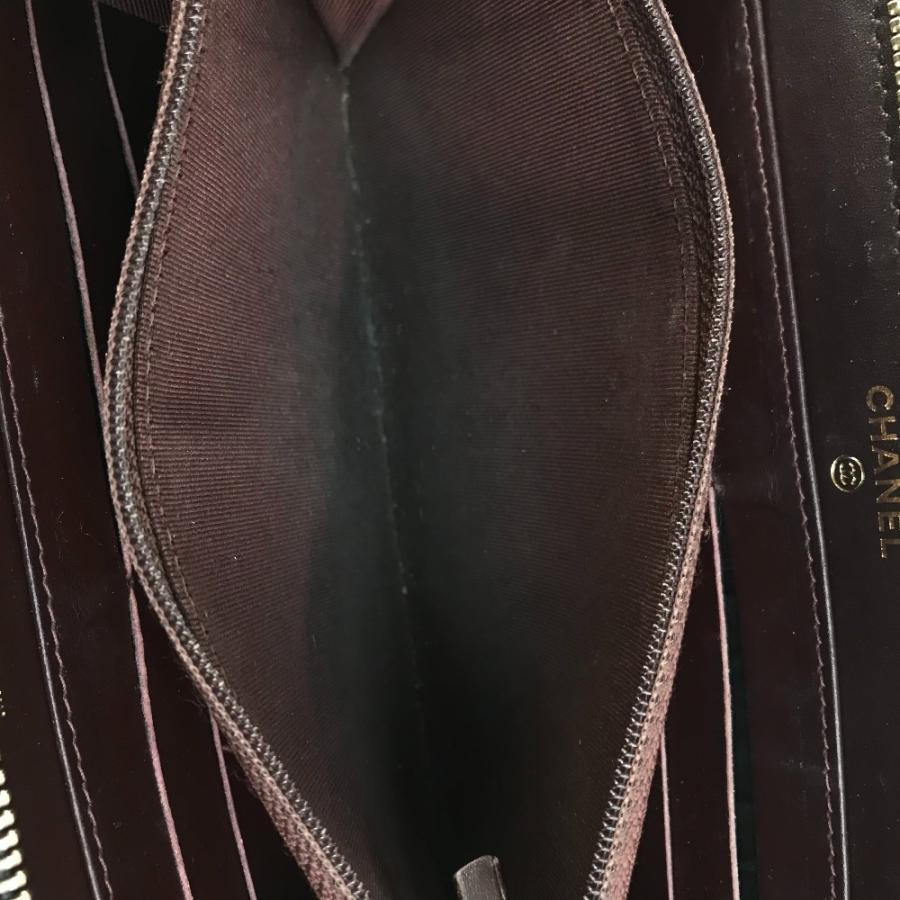 CHANEL シャネル A50097 マトラッセ CC ココマーク 長財布 ブラック レディース 【中古】|reference|08
