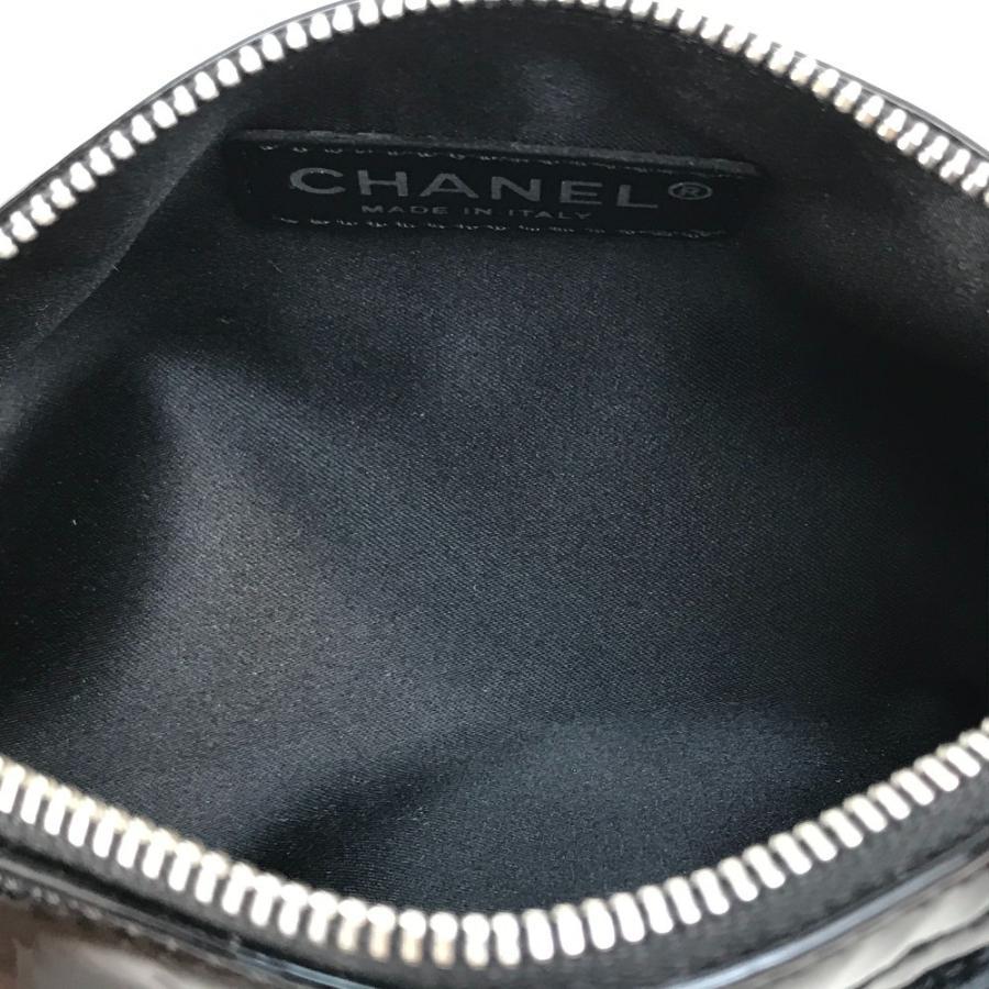 CHANEL シャネル カメリア CC ココマーク ペンケース ブラック レディース 【中古】|reference|07